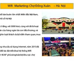 Wifi marketing tại Chợ Đồng Xuân - Hà Nội