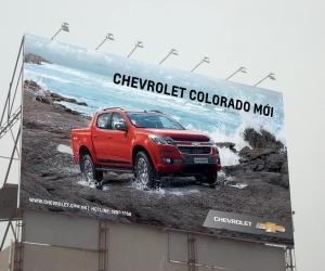 Quảng cáo cho khách hàng Ô tô Chevrolet