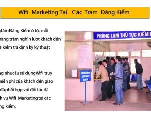 Wifi marketing tại các điểm công cộng