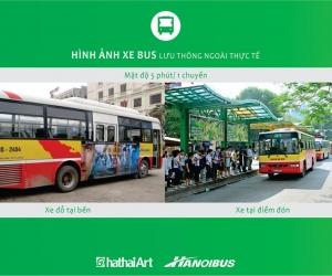 Quảng cáo trên xe bus, nhà chờ xe bus