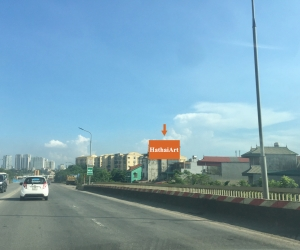 Cầu Thăng Long - Hướng Nội Bài đi trung tâm TP. Hà Nội
