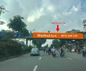 Biển quảng cáo Cầu vượt Ngã tư Võ Chí Công - Bưởi