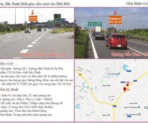 Biển quảng cáo QL1 Từ Sơn - Bắc Ninh