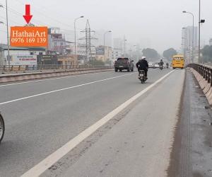 Biển quảng cáo Cầu vượt Phạm Văn Đồng - Cầu Giấy - Hà Nội