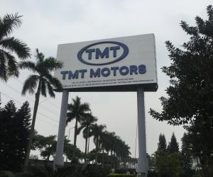 Thi công lắp đặt biển hiệu tại nhà máy TMT Hưng Yên