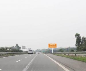 Biển quảng cáo Vị trí:  Km23 + 450 Cao tốc Hà Nội – Lào Cai