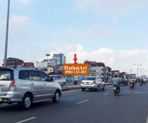 Biển quảng cáo tại Cầu vượt Đào Tấn - Bưởi - Võ Chí Công - Nội Bài