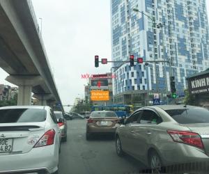 Biển quảng cáo Ngã tư Quang Trung - Lê Trọng Tấn - Hà Đông